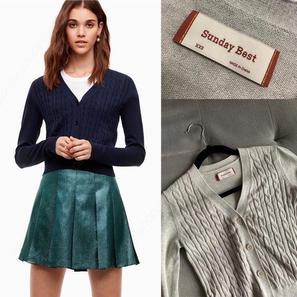 SOLD ARITZIA (Sunday Best) March Sweater